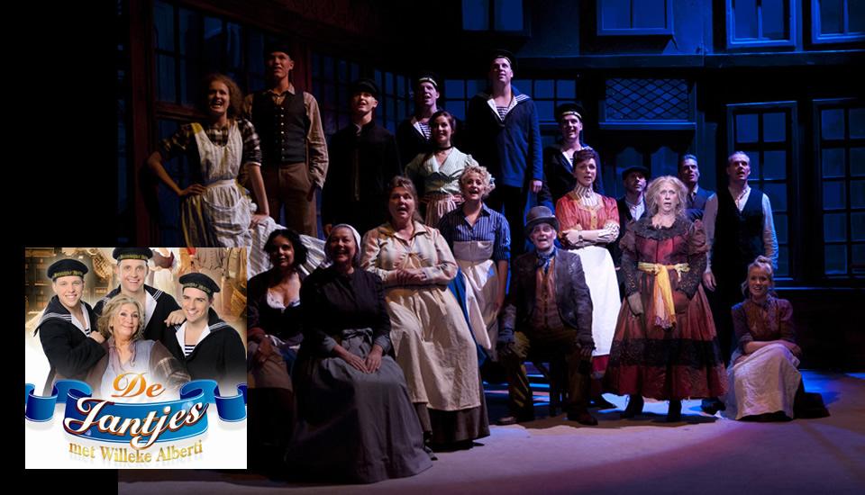 Nieuwe theatertour De Jantjes vanaf september 2014!