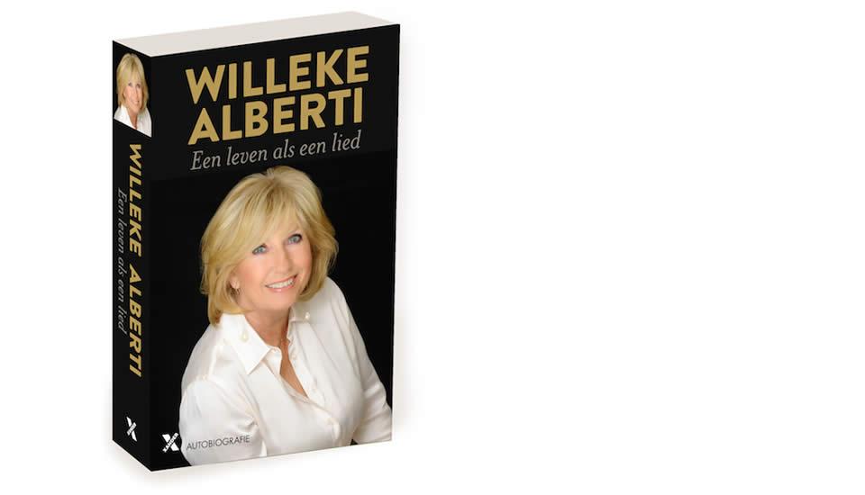 Willeke signeert 'Een leven als een lied'